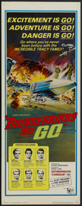 """Movie Posters:Science Fiction, Thunderbirds Are Go (United Artists, 1968). Insert (14"""" X 36"""").Science Fiction...."""