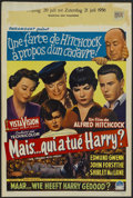 "Movie Posters:Hitchcock, The Trouble With Harry (Paramount, 1955). Belgian (14.5"" X 21.5"").Hitchcock...."