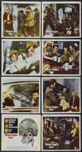 "Movie Posters:War, Where Eagles Dare (MGM, 1968). International Lobby Card Set of 8(11"" X 14""). War.... (Total: 8 Items)"