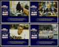 "Movie Posters:Sports, Slap Shot (Universal, 1977). Lobby Card Set of 4 (11"" X 14""). Sports.... (Total: 4 Items)"