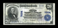 National Bank Notes:Colorado, Fort Morgan, CO - $20 1902 Plain Back Fr. 650 The First NB Ch. #7004. ...