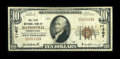 National Bank Notes:Pennsylvania, Davidsville, PA - $10 1929 Ty. 1 The First NB Ch. # 11407. ...
