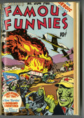 Golden Age (1938-1955):Miscellaneous, Famous Funnies #193-204 Bound Volume (Eastern Color, 1951-52).... (Total: 0)
