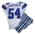 Football Collectibles:Uniforms, 2006 Bobby Carpenter Game Worn Jersey with Pants. High-quality jersey from the 2006 season was worn by Dallas Cowboys line...