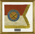 Military & Patriotic:Civil War, Post Civil War Light Artillery Guidon, Battery A, Massachusetts Volunteer Militia Guidon of Independent Battery A, Massachus...