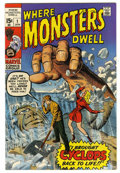 Bronze Age (1970-1979):Horror, Where Monsters Dwell #1 (Marvel, 1970) Condition: NM-....