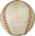 Autographs:Baseballs, 1966 Baltimore Orioles World Champion Team Signed Baseball. In 1966Hank Bauer led the Baltimore Orioles to their first Wor...