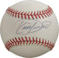 Autographs:Baseballs, Kirby Puckett Single Signed Baseball. Recent Hall of Fame inducteewhose life was tragically cut short last year offers thi...