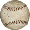 "Autographs:Baseballs, Circa 1920 ""Babe"" Ruth Single Signed Baseball. Taking into account numerous exemplars of the mighty Babe Ruth's signature, ..."