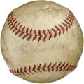 Autographs:Baseballs, Vintage Baseball Stars Multi-Signed Baseball. A total of seventeenformer major league stars, each playing some time betwee...