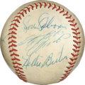 Autographs:Baseballs, 1971 Pittsburgh Pirates World Champions Team Signed Baseball withClemente. From an epic year for the Pirates -- they lifte...