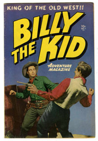Billy the Kid Adventure Magazine #1 (Toby Publishing, 1950) Condition: FN