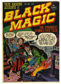 Golden Age (1938-1955):Horror, Black Magic V1#1 (Headline, 1950) Condition: VF+....