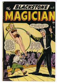 Blackstone, the Magician #2 (Timely, 1948) Condition: VG+