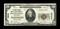 National Bank Notes:Pennsylvania, Downingtown, PA - $20 1929 Ty. 1 The Grange NB of Chester CountyCh. # 8646. ...