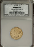 1852-C $5 --Improperly Cleaned--NCS. XF Details....(PCGS# 8251)