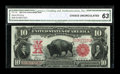 Large Size:Legal Tender Notes, Fr. 118 $10 1901 Legal Tender CGA Choice Uncirculated 63....