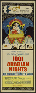 "Movie Posters:Animated, 1001 Arabian Nights (Columbia, 1959). Insert (14"" X 36"").Animated...."