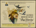 "Movie Posters:Hitchcock, The Birds (Universal, 1963). Half Sheet (22"" X 28""). Hitchcock...."