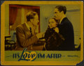 """Movie Posters:Comedy, It's Love I'm After (Warner Brothers, 1937). Lobby Card (11"""" X 14""""). Comedy...."""
