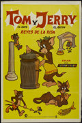 "Movie Posters:Animated, Tom and Jerry -- Kings of Laughter (Cinema International, 1960s).Argentinean Poster (29"" X 43""). Animated...."