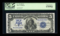 Large Size:Silver Certificates, Fr. 278 $5 1899 Silver Certificate PCGS Superb Gem New 67PPQ....
