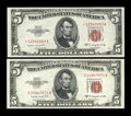 Small Size:Legal Tender Notes, Fr. 1534 $5 1953B Legal Tender Note. Choice Crisp Uncirculated;. Fr. 1534* $5 1953B Legal Tender Star Note. Choice Crisp Uncir... (Total: 2 notes)