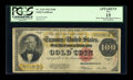 Large Size:Gold Certificates, Fr. 1215 $100 1922 Gold Certificate PCGS Fine 15 Apparent....