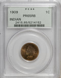 Proof Indian Cents: , 1909 1C PR65 Red and Brown PCGS. PCGS Population (42/15). NGC Census: (47/25). Mintage: 2,175. Numismedia Wsl. Price for NG...