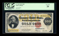 Large Size:Gold Certificates, Fr. 1215 $100 1922 Gold Certificate PCGS Very Fine 20....