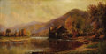 Fine Art - Painting, American:Antique  (Pre 1900), GEORGE C. PEDRICK (American, 19th Century). The Old Mill,1891. Oil on canvas. 12-1/4 x 14-1/4 inches (31.1 x 36.2 c...
