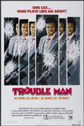 "Movie Posters:Blaxploitation, Trouble Man (20th Century Fox, 1972). One Sheet (27"" X 41""). Blaxploitation...."