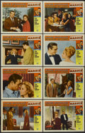 """Movie Posters:Hitchcock, Marnie (Universal, 1964). Lobby Card Set of 8 (11"""" X 14"""").Hitchcock.... (Total: 8 Items)"""