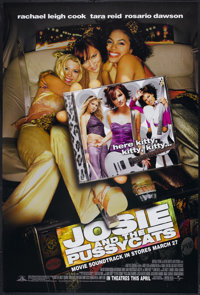 """Josie and the Pussycats (Universal, 2001). One Sheet (27"""" X 40"""") DS Advance. Comedy"""
