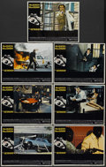 "Movie Posters:Action, The Getaway (National General, 1972). Lobby Cards (7) (11"" X 14"").Action.... (Total: 7 Items)"
