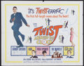 "Movie Posters:Rock and Roll, Twist Around the Clock (Columbia, 1961). Half Sheet (22"" X 28"").Rock and Roll...."