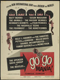 "Movie Posters:Rock and Roll, Go Go Mania (American International, 1965). Poster (30"" X 40"").Rock and Roll...."