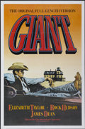 "Movie Posters:Drama, Giant (Kino International, R-1982). One Sheet (27"" X 41""). Drama...."