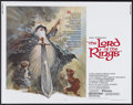 """Movie Posters:Animated, The Lord of the Rings (United Artists, 1978). Half Sheet (22"""" X28""""). Animated...."""
