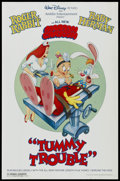 "Movie Posters:Animated, Tummy Trouble (Buena Vista, 1989). Mini Poster (26"" X 17"").Animated.... (Total: 2 Items)"