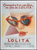 "Movie Posters:Drama, Lolita (Cinemato, 1962). French Grande (47"" X 63""). Drama...."