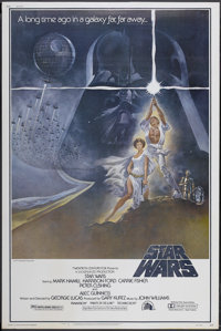 "Star Wars (20th Century Fox, 1977). Poster (40"" X 60"") Style A. Science Fiction"
