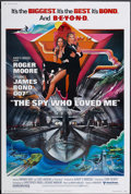 "Movie Posters:James Bond, The Spy Who Loved Me (United Artists, 1977). Poster (40"" X 60""). James Bond...."