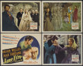 "Movie Posters:Romance, Jane Eyre (20th Century Fox, 1944). Title Lobby Card and Lobby Cards (3) (11"" X 14""). Romance.... (Total: 4 Items)"