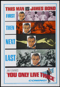 "Movie Posters:James Bond, You Only Live Twice (United Artists, 1967). One Sheet (27"" X 41"") Advance. James Bond...."