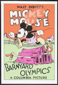 "Movie Posters:Animated, Barnyard Olympics (Circle Fine Arts, 1980s). Fine Art Serigraph(22.5"" X 30.5""). Animated...."