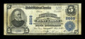 National Bank Notes:Pennsylvania, West Grove, PA - $5 1902 Plain Back Fr. 608 The NB & TC Ch. #2669. ...