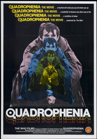 """Quadrophenia (The Who Films, 1979). British One Sheet (27"""" X 40""""). Rock and Roll"""