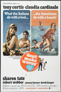 "Movie Posters:Comedy, Don't Make Waves (MGM, 1967). International One Sheet (27"" X 41"").Comedy...."