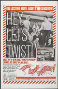 "Movie Posters:Rock and Roll, Hey, Let's Twist (Paramount, 1962). One Sheet (27"" X 41"") Style B.Rock and Roll...."